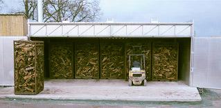Séchoir biomasse bois sec
