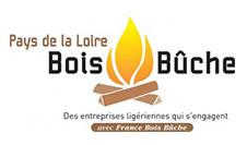 logo Pays de la Loire bois bûche