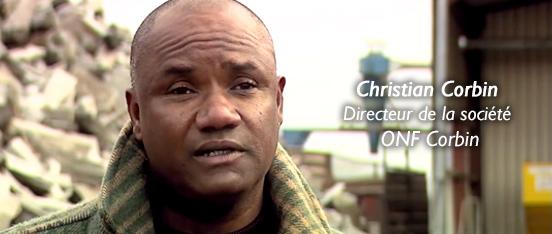 Christian Corbin, directeur de la société ONF Corbin