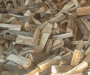 bois de chauffage en vrac