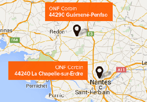 Sites de production Bois de chauffage près de Saint Nazaire